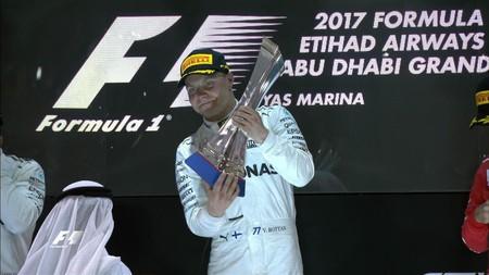 La Fórmula 1 termina temporada en Abu Dabi con Valtteri Bottas en lo más alto