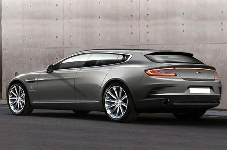 Aston Martin Rapide Bertone one-off 2013, vista posterior