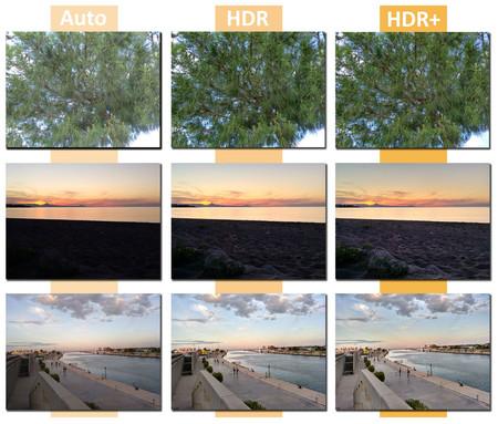 BQ Aquaris X: comparativa de fotografías en automático, HDR y HDR+