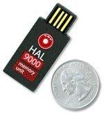 Memoria USB de 1 GB diminuta