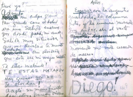 Manuscrito de Frida