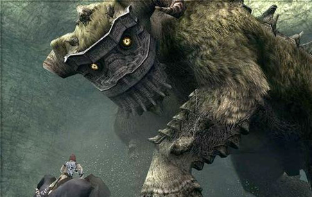 'Shadow of the Colossus', bocetos originales del juego