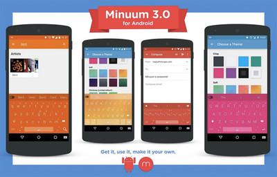 Minuum 3.0 añade soporte para Lollipop