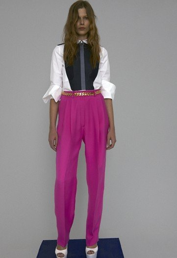 celine resort 2012 fucsia