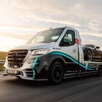Mercedes-Benz Sprinter Petronas Edition by Kegger: el trabajo de un carocero que se inspiró en los F1 de la marca alemana