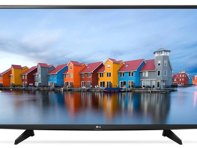 Smart TV LG 49LH590V, con 49 pulgadas y resolución FullHD, por 369 euros
