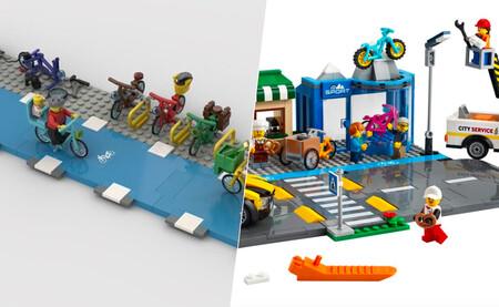 Lego City también era una ciudad cochecentrista. Ya no: la empresa se plantea incluir carriles bici