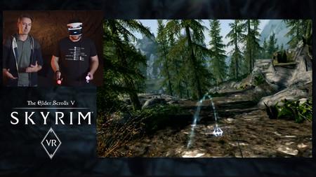 Así se juega a Skyrim en VR: una lección magistral de cómo llevar un juego a la Realidad Virtual