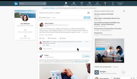 LinkedIn cambia de diseño y lanza nuevas herramientas en su plataforma