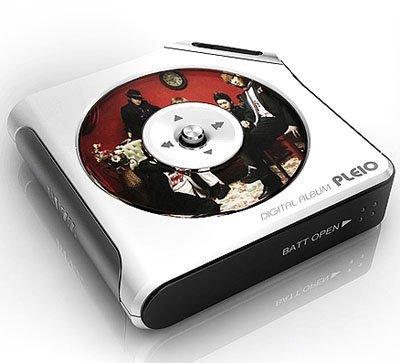 Reproductor Pleio muestra las carátulas de CD