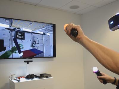 En la NASA están utilizando la PlayStation VR para aprender a manejar robots en el espacio
