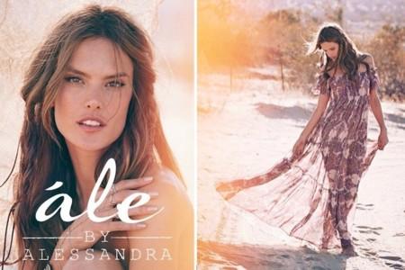 Alessandra Ambrosio nos presenta su marca de ropa 100% californiana: ále by Alessandra Ambrosio