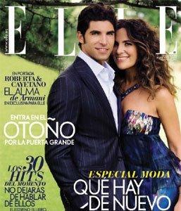 Cayetano Rivera y Roberta Armani portada de Elle