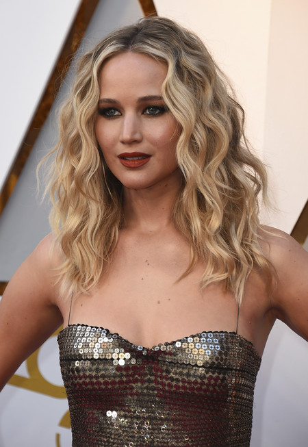 oscars 2018 beauty melena jennifer lawrence