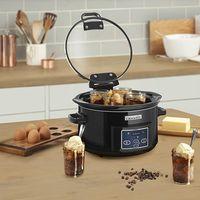 La olla de cocción lenta Crock-Pot CSC052X-01, programable y con 4,7 litros de capacidad, en oferta por 59,90 euros en Amazon