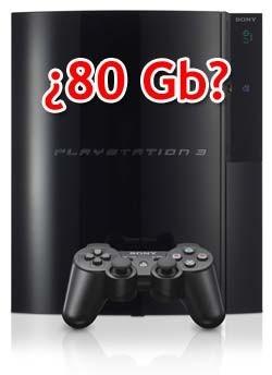 La PlayStation 3 de 80 Gb podría llegar a España