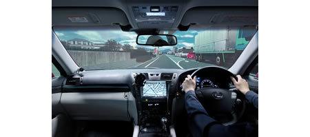 Simulador de conducción de Toyota