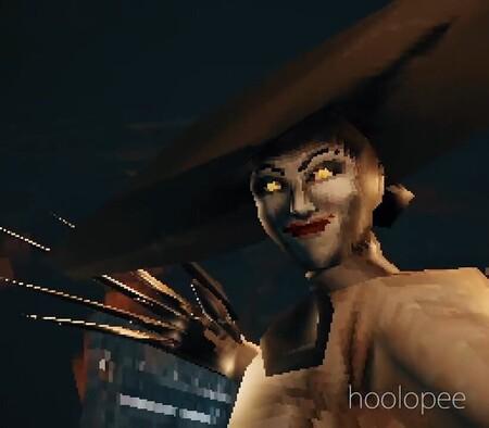 No importa cuántos polígonos tenga Lady Dimitrescu, la versión de Resident Evil Village de PS1 sigue siendo terrorífica