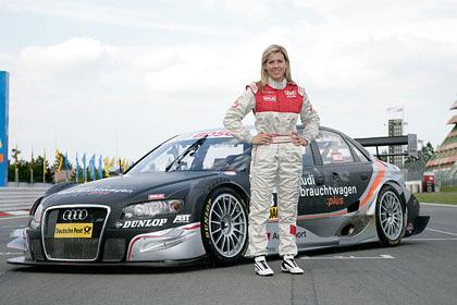 María de Villota probará el Audi A4 del DTM