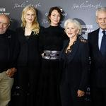 Una Uma Thurman castaña presenta el Calendario Pirelli con Hellen Mirren y Nicole Kidman