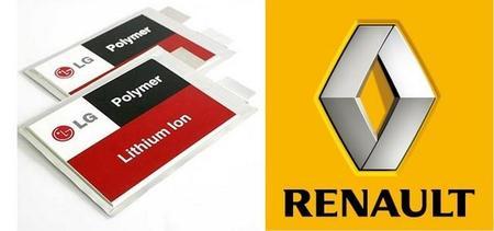 Renault y LG dispuestas a cooperar para desarrollar un vehículo eléctrico con 400 km de autonomía