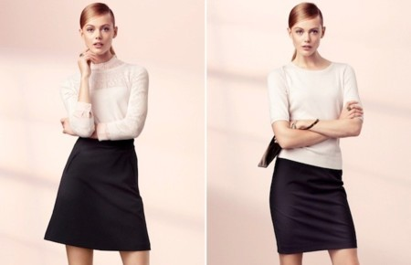 h&m elegancia 2013 blanco y negro
