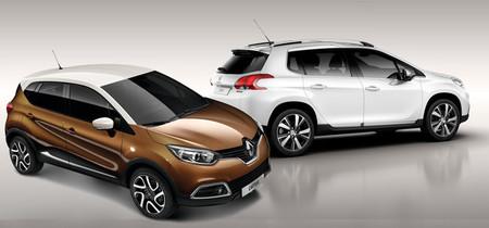 Renault Captur - Peugeot 2008, duelo galo de crossovers