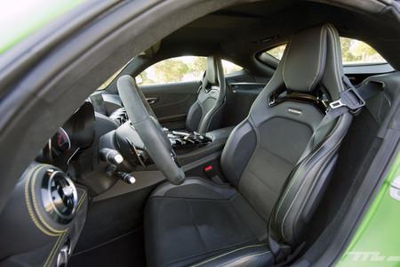 Mercedes-AMG GT R, prueba