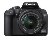Canon anuncia oficialmente la EOS 1000D