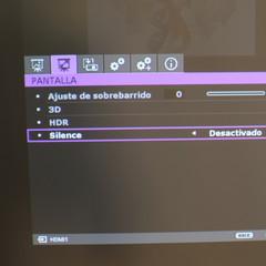 Foto 5 de 12 de la galería menu-proyector en Xataka Smart Home