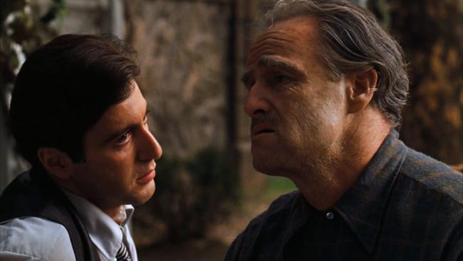 Godfather Pacino Brando
