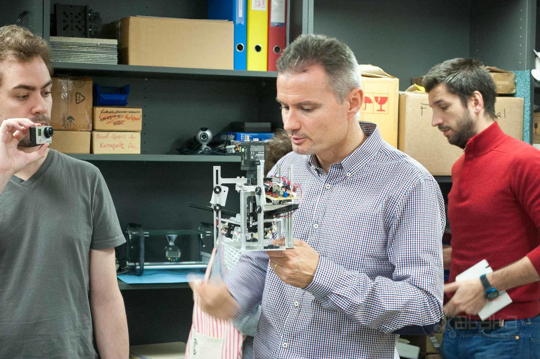 Foto de Logitech Lausanne, visita a sus laboratorios (6/49)