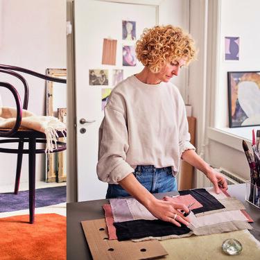 Made.com presenta su nueva colección de textiles y pequeños complementos en colaboración con la diseñadora Begit Mogensen