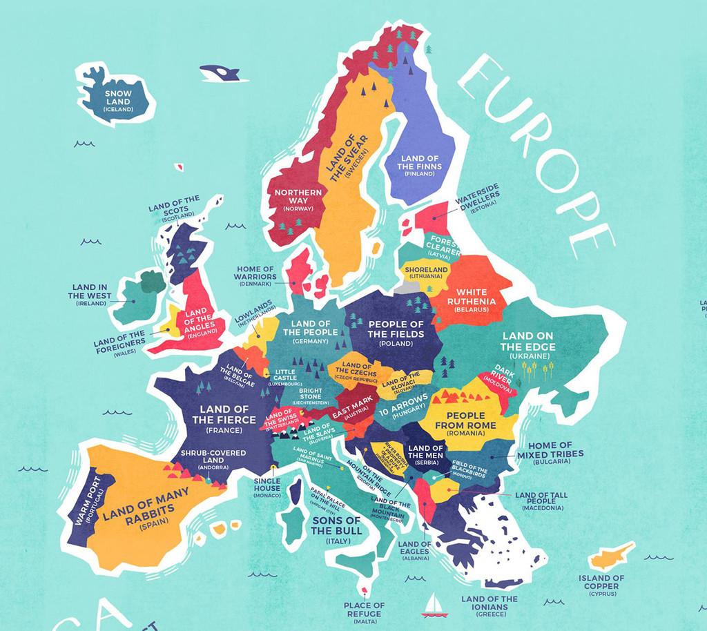 Nombres De Europa