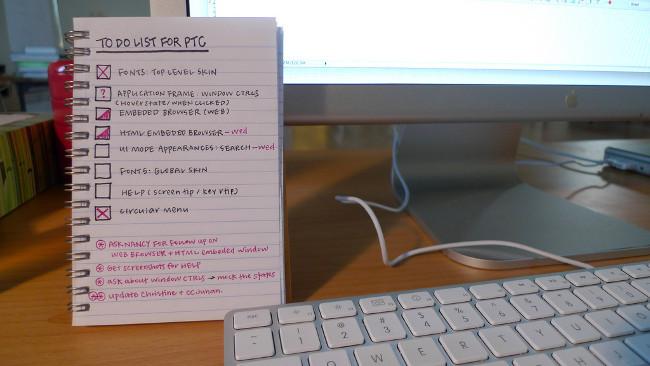 Cómo te ayuda una lista de tareas cuando tienes más trabajo del que puedes organizar