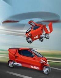 PALV: Coche, moto y helicóptero en uno solo