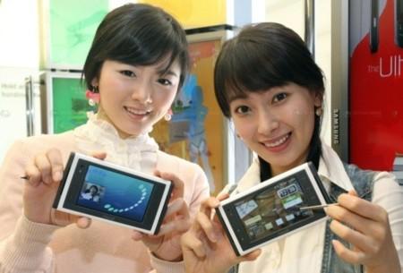 Reproductor de vídeo Samsung con WiBro para Corea