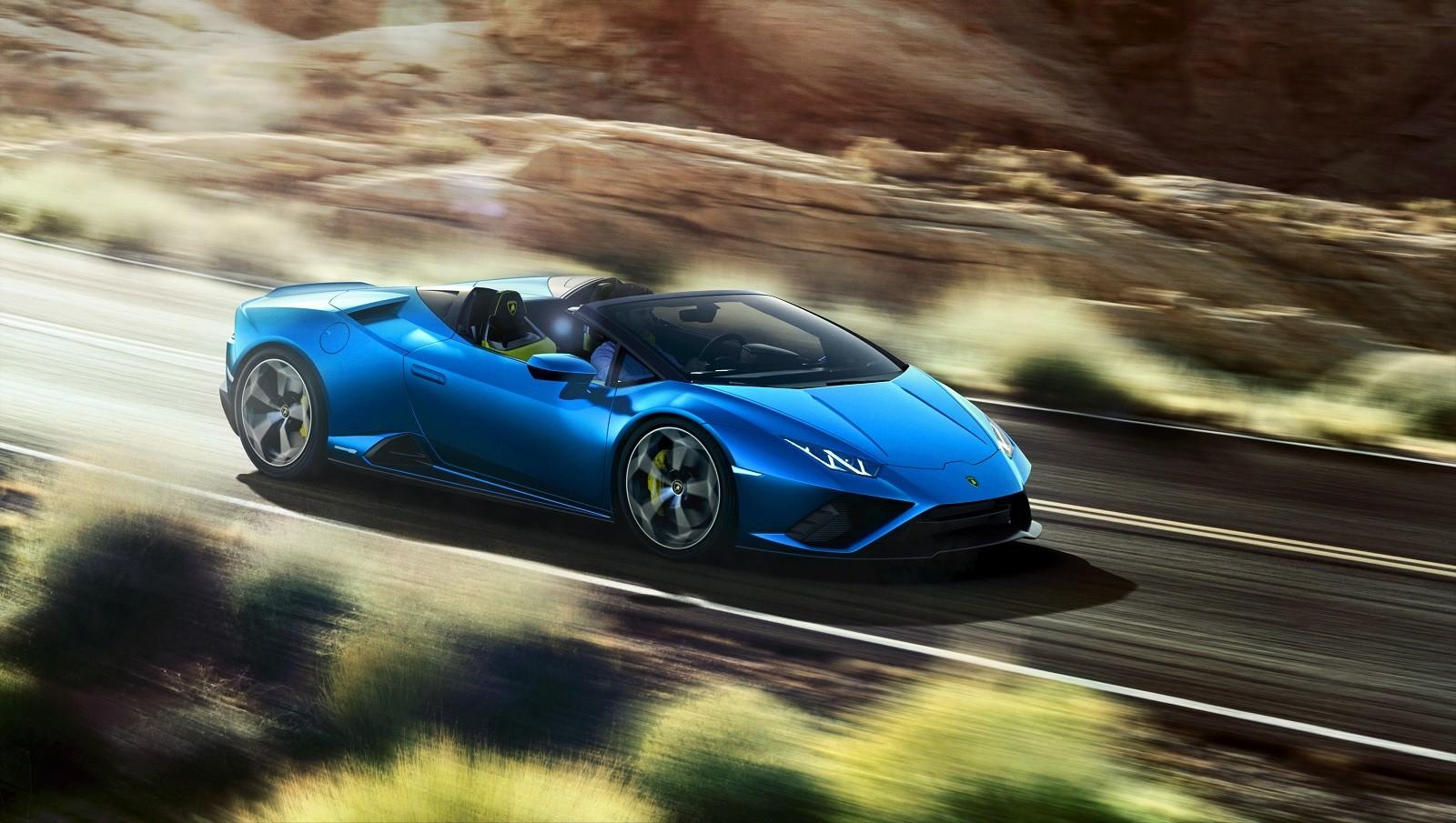 Foto de Lamborghini Huracan EVO Spyder RWD (3/14)