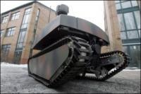 Ofro, el robot que vigilará en el Mundial de Fútbol