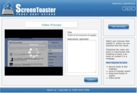 ScreenToaster, grabando screencasts desde la web