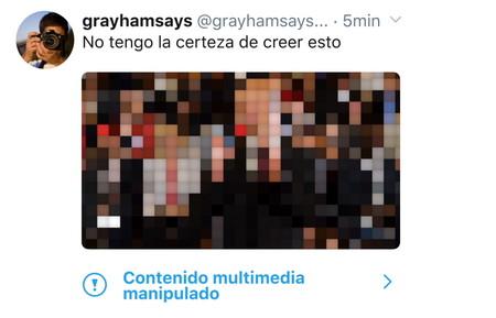 Twitter empezará hoy a etiquetar los tuits que incluyan imágenes o vídeos manipulados