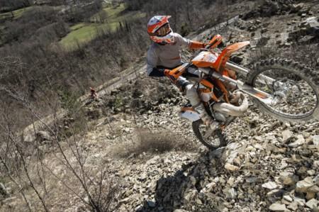 Actualización de los modelos de enduro de KTM, galería de la gama de motocross y listado completo de precios