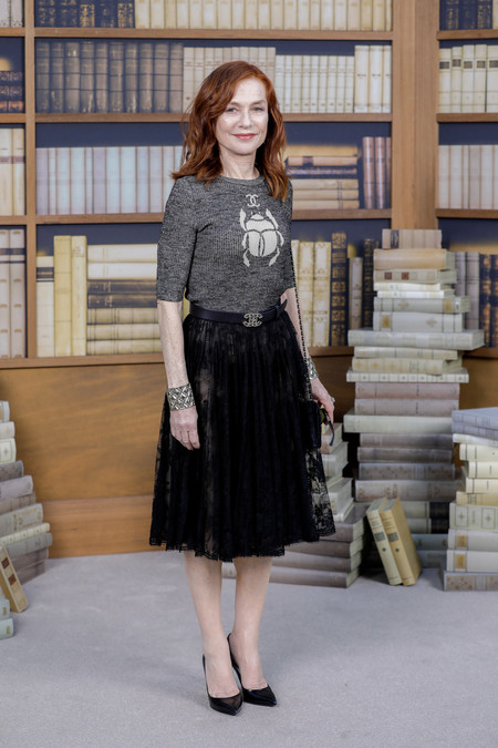 Isabelle Huppert chanel