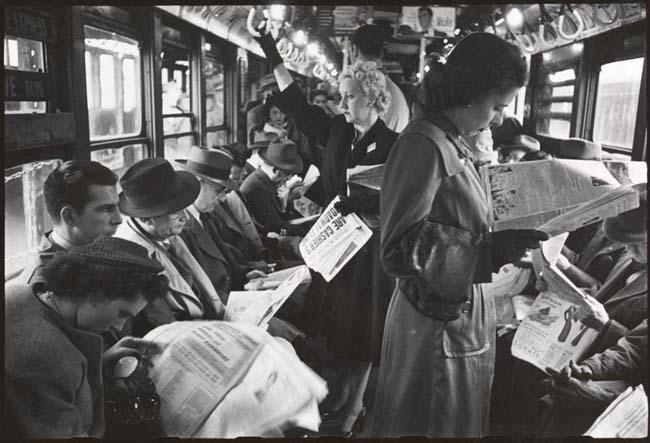 Foto de Stanley Kubrick y el metro de Nueva York (3/10)