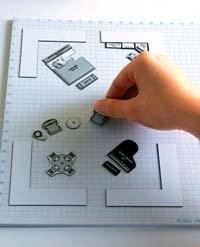 Diseña el mobiliario con un juego de mesa