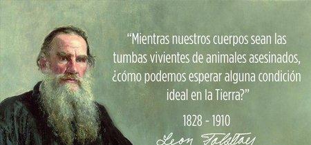 'El primer peldaño': los escritos del Tolstói vegetariano