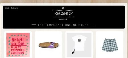 RECShop, la única tienda online efímera abre hoy