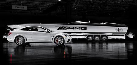 AMG Black Series 50' Marauder Cigarette, un barco inspirado en el C63 AMG