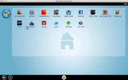 ¿Ejecutar aplicaciones de Android en OS X? Con Bluestacks es posible