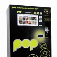 PoP, máquina de vending de contenidos